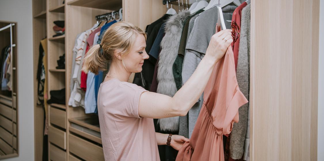 Walk-in-garderobe
